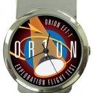 NASA Orion Exploration Flight Test Money Clip Watch