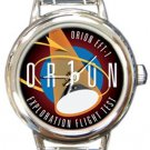 NASA Orion Exploration Flight Test Round Italian Charm Watch