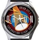 NASA Orion Exploration Flight Test Round Metal Watch
