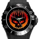 The Offspring Band Logo Plastic Sport Watch In Black