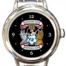 Coventry City FC Round Italian Charm Watch