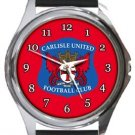 Carlisle United FC Round Metal Watch