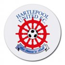 Hartlepool United FC Heat-Resistant Round Mousepad