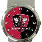 Exeter City FC Money Clip Watch