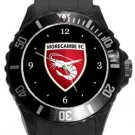Morecambe FC Plastic Sport Watch In Black