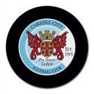 Carlisle City FC Heat-Resistant Round Mousepad