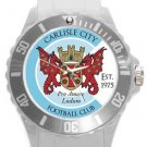 Carlisle City FC Plastic Sport Watch In White