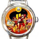 Incredibles 2 Round Italian Charm Watch