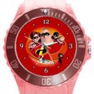 The Incredibles Plastic Sport Watch In Pink