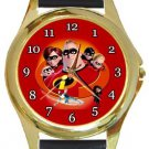 The Incredibles Gold Metal Watch