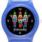 Nutcracker Blue Plastic Watch