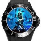 Aquaman Plastic Sport Watch In Black