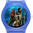 The Aquaman Blue Plastic Watch