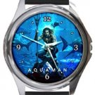 Aquaman Round Metal Watch