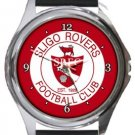 Sligo Rovers FC Round Metal Watch