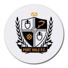 Port Vale FC Heat-Resistant Round Mousepad