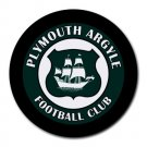 Plymouth Argyle Football Club Heat-Resistant Round Mousepad