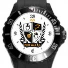 Port Vale FC Plastic Sport Watch In Black