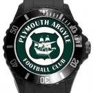 Plymouth Argyle Football Club Plastic Sport Watch In Black