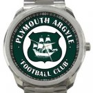 Plymouth Argyle Football Club Sport Metal Watch