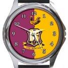 Bradford City FC The Bantams Round Metal Watch