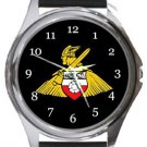 Doncaster Rovers FC Round Metal Watch
