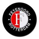 Feyenoord Rotterdam FC Heat-Resistant Round Mousepad