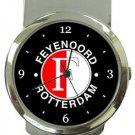 Feyenoord Rotterdam FC Money Clip Watch