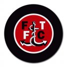 Fleetwood Town FC Heat-Resistant Round Mousepad