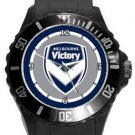 Melbourne Victory FC Plastic Sport Watch In Black