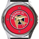 Walsall FC Round Metal Watch