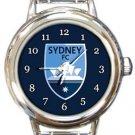 Sydney FC Round Italian Charm Watch