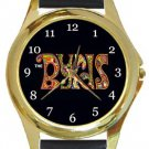 The Byrds Gold Metal Watch