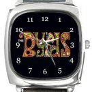 The Byrds Square Metal Watch