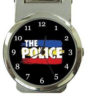 The Police Money Clip Watch