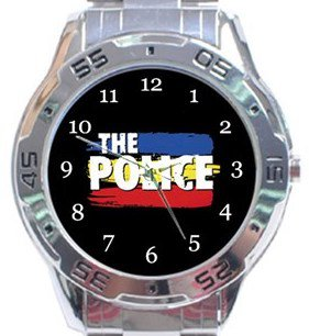The Police Analogue Watch
