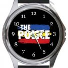 The Police Round Metal Watch
