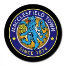 Macclesfield Town FC Heat-Resistant Round Mousepad
