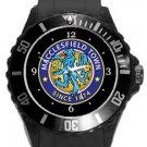 Macclesfield Town FC Plastic Sport Watch In Black
