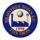 Braintree Town FC The Iron Heat-Resistant Round Mousepad