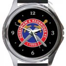 Dagenham & Redbridge FC Round Metal Watch
