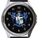 Bury FC Round Metal Watch