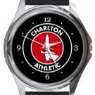 Charlton Athletic FC Round Metal Watch