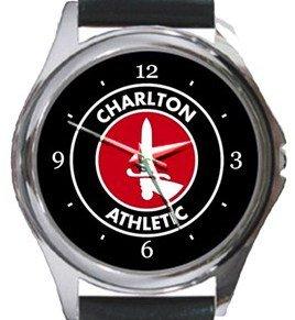 Charlton Athletic FC Round Metal Watch