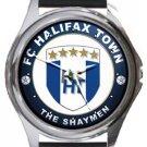 FC Halifax Town The Shaymen Round Metal Watch