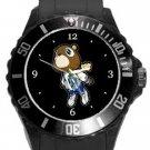 Kanye West Dropout Bear Plastic Sport Watch In Black