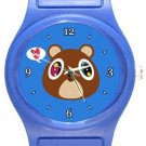 Funny Kanye West Bear Blue Plastic Watch
