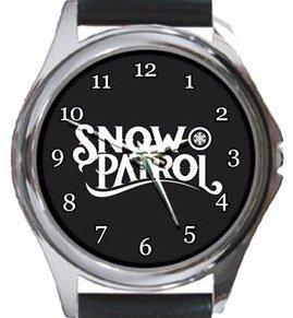 Snow Patrol Round Metal Watch