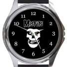 The Misfits Round Metal Watch