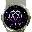 HIM Band Logo Money Clip Watch